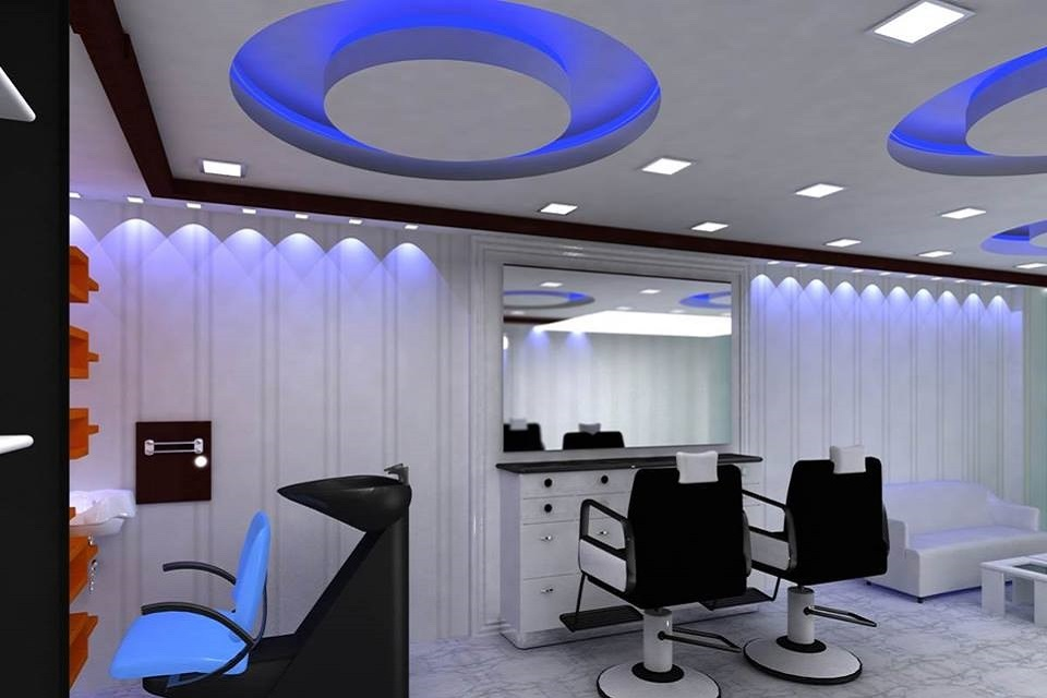 Ceilings made by inexterior best interior design company in bangladesh inexterior work for Salon interior design software
