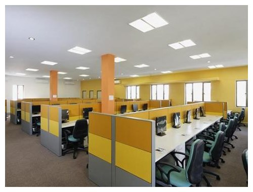 Office interior design and decoration service in for Home interior decoration company