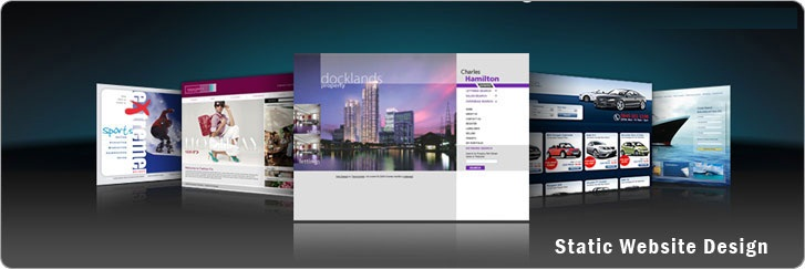Static Website Design in Bangladesh