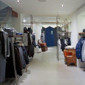 Fashion house interior design
